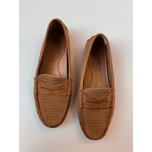 Ralph Lauren • Genuine Leather Slip On Loafers
